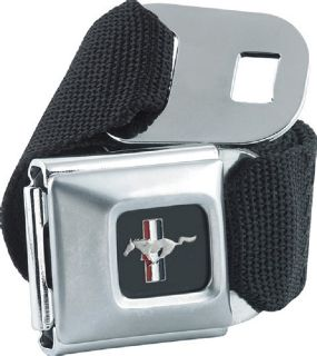 Ford Mustang Car Automotive Logo Seatbelt Belt Buckle Officially Licensed