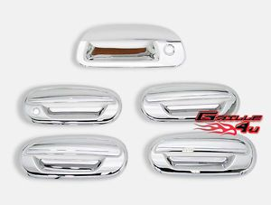 97 03 Ford F 150 4 Door Handle Tailgate Cover Chrome Accessories Combo