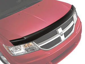 82210993AB Mopar Dodge Journey Front Air Deflector Bug Shield w Dodge Logo