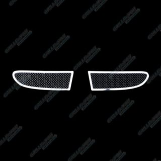 Fits 2011 2013 Dodge Journey Fog Light Stainless Steel Black Mesh Grille Grill