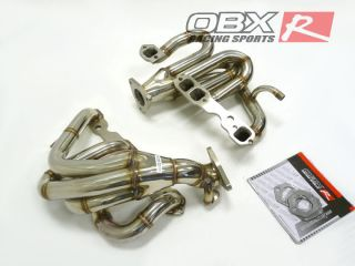 OBX Exhaust Header 94 95 96 Chevy Impala SS 350 Lt 1 Mid Tube Stainless Steel