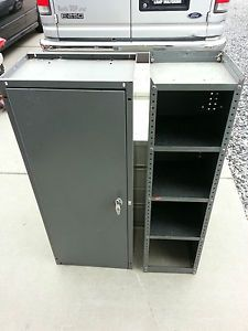 Adrian Steel Locking Cabinet Tool Storage 4 Shelf Ford Van Electrical Storage