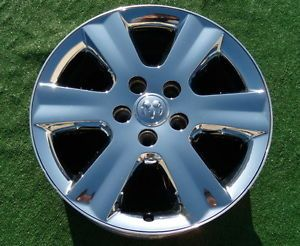 1 Genuine Original 2009 2010 Factory Dodge Journey 19 inch Chrome Wheel 2374