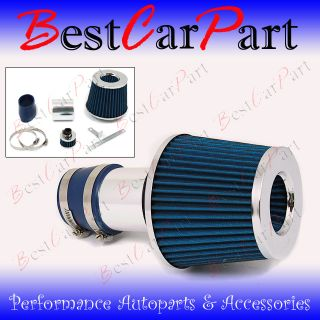 99 05 Blue Jetta Golf Bettle TT Short RAM Air Intake Induction Kit Filter