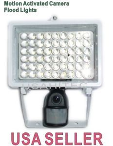 Outdoor Motion Activated Flood Light Hidden Camera 32G TF Audio Video Record