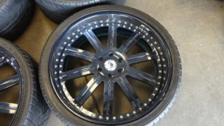 "26"" asanti AF 134 Custom Painted 3 Piece Wheels Rims Cadillac Escalade Denali"