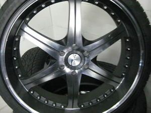 "26"" Gianelle Spezia 6 Wheels Tire Giovanna Dub Lexani Forgiato asanti Escalade"