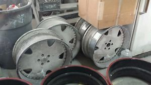 "22"" asanti AF111 Chrome Wheels Rims 3 Piece"