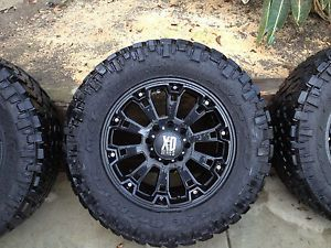 KMC XD Series Wheels and Nitto Grappler Tires
