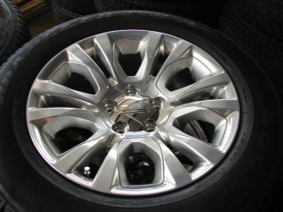 "4 2013 20"" Dodge RAM 1500 Laramie Factory Wheels Rims Goodyear Tires 2455"