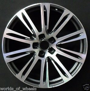 "Audi A7 A8 2011 2012 Machined 20"" 10 Double Spoke Factory Wheel Rim H 58871"
