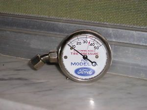 1 Antique Original U s Tire Gauge 1928 29 30 31 Ford Model A Tool Display Gage