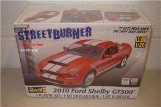 Revell Model Kit 2010 Ford Shelby GT500 1 25 Scale Factory SEALED Kit 85 4938