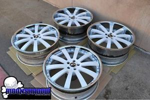 "22"" Forgiato Concavo Mercedes Benz s Class S550 Staggered Wheels Rims Asanti"