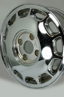 "Chrome 15"" 1992 1993 Honda Accord Wheel 63735"
