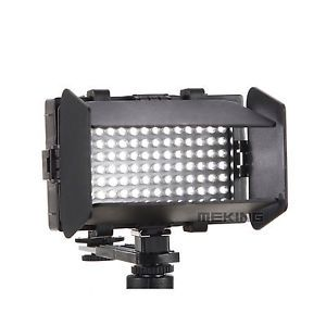 Pro DV 112 LED Video Light Kit Camera Camcorder Lighting F Canon Nikon Sony SLR