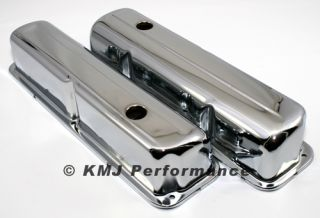 57 76 Ford FE Chrome Valve Covers 352 390 406 427 428 Big Block
