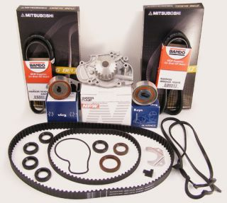 Honda Accord Timing Belt Water Pump Kit 4 Cyl 2 3L
