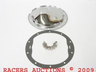 10 Bolt Chrome Differential Cover Kit Chevy Camaro