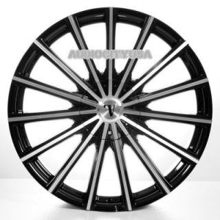 "22"" VC10 BM Wheels and Tires Rims for Chevy Tahoe Escalade Yukon RAM Ford"