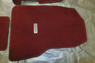 JDM Honda Civic Type R EP3 Red Floor Mats K20A RSX DC5 EK9 Civic Very RARE