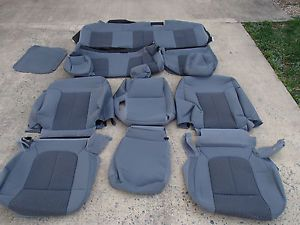 2011 Ford F250 Super Duty Truck Original Cloth Seat Covers