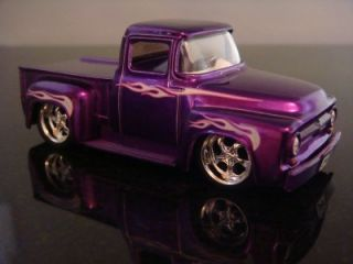 1956 Ford F100 Street Rod Pickup 1 64 Scale Limited Edition 2 Detailed Photos