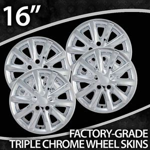 Toyota Camry 16 inch Chrome Wheel Covers 2010 2011