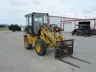 2005 Caterpillar 906 Wheel Loader Cat with Bucket and Forks
