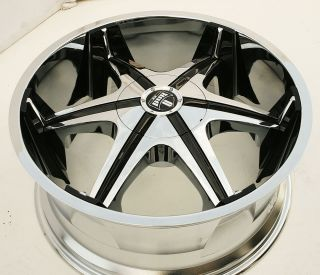 Dub Shooz S145 22 x 9 5 Chrome Rims Wheels Dodge Magnum Hemi V8 5H 15