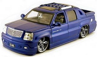Cadillac Escalade Ext Dub City Diecast 1 18 Scale