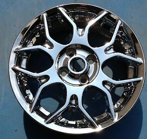 "One 06 09 Chevrolet Cobalt 07 10 Pontiac G5 16"" Chrome Factory Wheel Rim 5287"