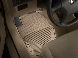 Weathertech® All Weather Floor Mats 1989 2007 Honda Accord Tan