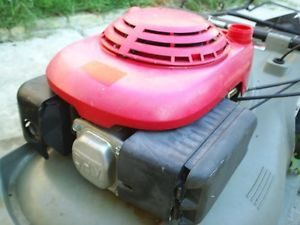 Used Very Little GXV140 HRM215 Honda Lawn Mower Engine