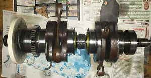SeaDoo Sea Doo 787 800 Crankshaft Crank Shaft Block XP GTS SPx GSX Low Hours