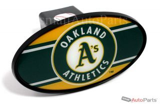 "Oakland Athletics A's MLB Tow Hitch Cover Car Truck SUV Trailer 2"" Receiver Plug"