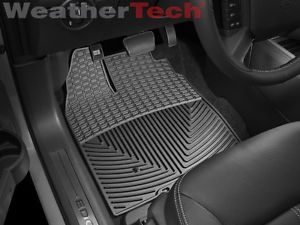 Weathertech® All Weather Floor Mats 2007 2010 Ford Edge Black