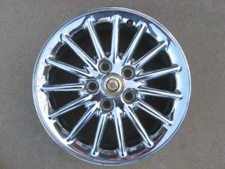 1998 1999 2000 2001 Chrysler 300M LHS Concord Factory Chrome Aluminum Wheel