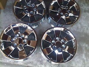 "17"" Toyota 4Runner 2010 2011 2012 Factory Chrome Wheels Rims Set 4 Four"