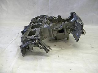 03 04 Suzuki GSXR 1000 Engine Motor Block Crankcase Cases Case