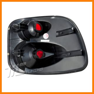01 03 Ford F150 Red altezza Tail Light 2004 F Heritage 4DOOR Crew Flareside Pair