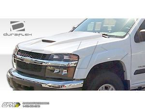 FRP Chevrolet Colorado GMC Canyon RAM Air Hood Kit Auto Body 1pc 04 06 Great