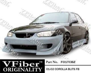 2001 2002 Toyota Corolla Blits V Fiber Full Body Kit