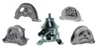 97 98 99 01 Honda CR V Engine Motor Mount 2 4L Set of 5