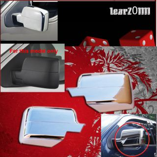 04 08 Ford F150 Chrome Door Handle Mirror Covers Gas Door Bezels with Keypad