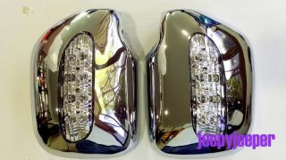 Chrome Mirror Cover LED Toyota Hilux MK3 Surf 89 97 R