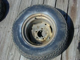 207  Suburban 12 6 Riding Lawn Mower Rear Tire Wheel 23 x 10 50 12