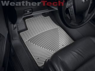 Weathertech® All Weather Floor Mats Honda Pilot 2009 2014 Grey