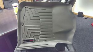 Toyota Tacoma 2005 2011 Grey WeatherTech Floor Mats Front