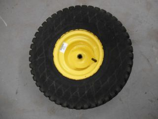 John Deere LT133 Rear Tire and Rim 20 x 10 00 8 NHS Part Number AM121904